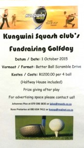 Kungwini golf day 2015