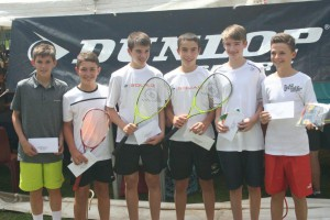 Damian Groenewald (2nd from left), 2nd Bu14 and Gareth Craigen (4th from left), 4th Bu14.